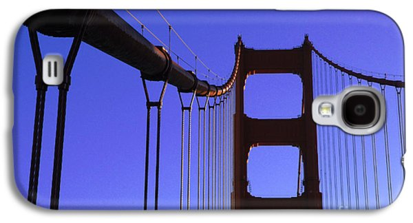 San Francisco Famous Photographers Galaxy S4 Cases - The Golden Gate Bridge Galaxy S4 Case by Bob Christopher