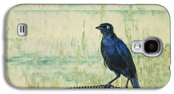 Painter Digital Art Galaxy S4 Cases - The Grackle Galaxy S4 Case by John Edwards