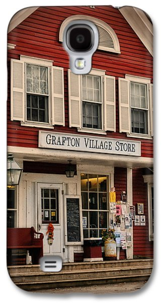 Country Store Galaxy S4 Cases - The Grafton Vermont Village Store Galaxy S4 Case by Thomas Schoeller