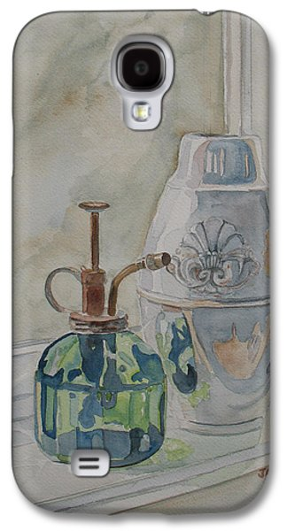 Glass Reflections Galaxy S4 Cases - The Green Mister Galaxy S4 Case by Jenny Armitage