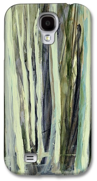Nature Abstract Paintings Galaxy S4 Cases - The Grove Galaxy S4 Case by Andrew King