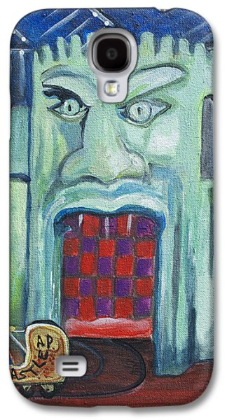 Asbury Park Casino Paintings Galaxy S4 Cases - The Haunted Castle Galaxy S4 Case by Patricia Arroyo