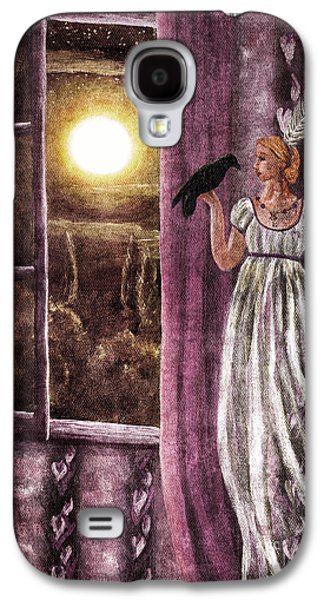 Halloween Digital Galaxy S4 Cases - The Haunted Parlor Galaxy S4 Case by Laura Iverson