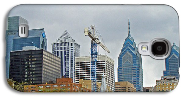 Phillie Galaxy S4 Cases - The Heart of the City - Philadelphia Pennsylvania Galaxy S4 Case by Mother Nature