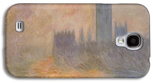 The Houses Of Parliament At Sunset Galaxy S4 Case by Claude Monet