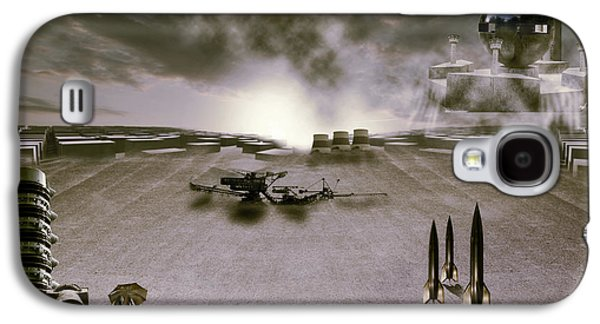 Recently Sold -  - Fantasy Photographs Galaxy S4 Cases - The industrial revolution Galaxy S4 Case by Nathan Wright