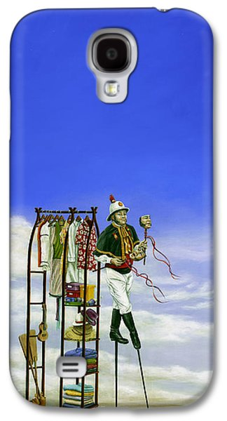 Ukelele Galaxy S4 Cases - The Journey of a Performer Galaxy S4 Case by Cindy D Chinn