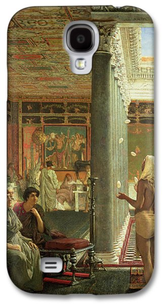 The Juggler Galaxy S4 Case by Sir Lawrence Alma-Tadema