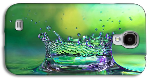 Abstract Rain Galaxy S4 Cases - The Kings Crown Galaxy S4 Case by Darren Fisher