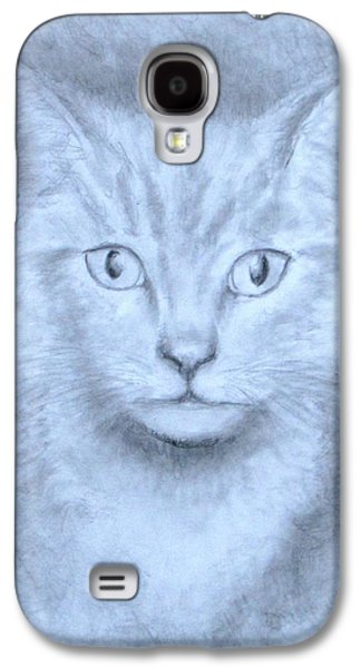 Jack Skinner Drawings Galaxy S4 Cases - The Kitten Galaxy S4 Case by Jack Skinner