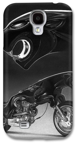 Drawing Galaxy S4 Cases - The Leaper Galaxy S4 Case by Tim Dangaran