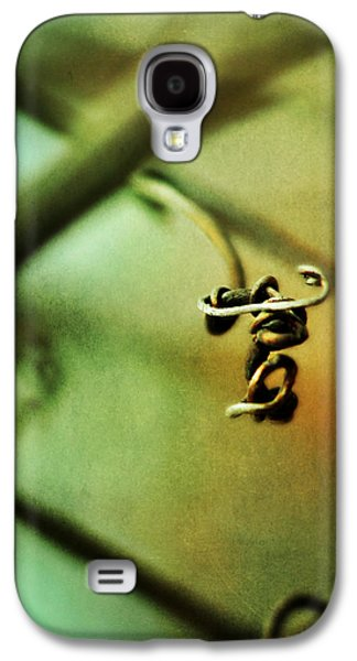 Tendrils Galaxy S4 Cases - The Letter T Galaxy S4 Case by Rebecca Sherman