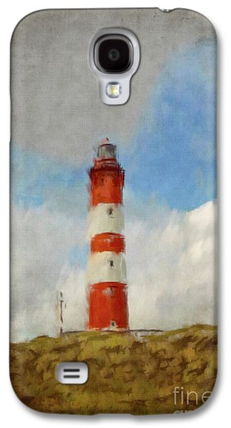 Lighthouse Galaxy S4 Cases - The Lighthouse Amrum Galaxy S4 Case by Angela Doelling AD DESIGN Photo and PhotoArt