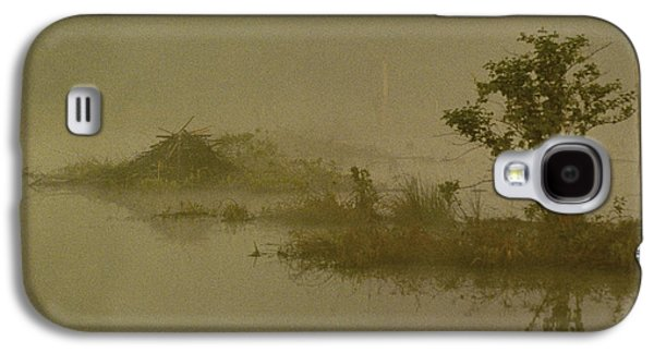 The Lodge In The Mist Galaxy S4 Case by Skip Willits