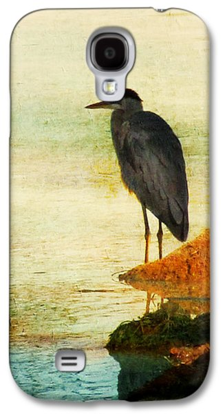 Water Fowl Galaxy S4 Cases - The Lonely Hunter Galaxy S4 Case by Amy Tyler