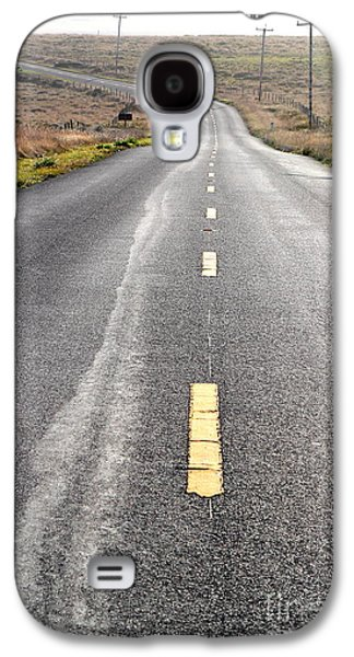Philosophical Galaxy S4 Cases - The Long Road Home . 7D9898 Galaxy S4 Case by Wingsdomain Art and Photography