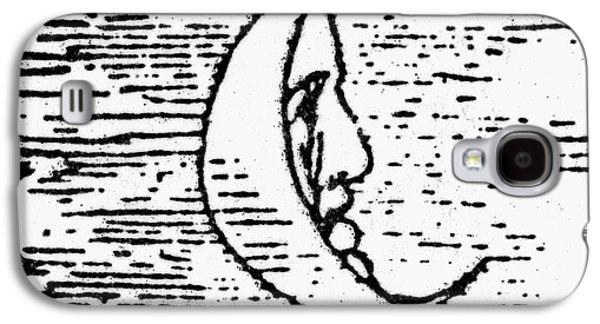 Man In The Moon Galaxy S4 Cases - The Man In The Moon Galaxy S4 Case by Granger