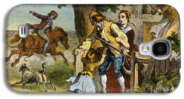 Personalities Photographs Galaxy S4 Cases - The Midnight Ride Of Paul Revere 1775 Galaxy S4 Case by Photo Researchers
