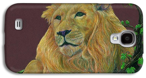 Jyvonne Inman Drawings Galaxy S4 Cases - The Mighty King Galaxy S4 Case by Jyvonne Inman