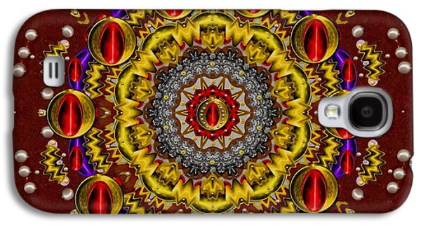 Contemplative Mixed Media Galaxy S4 Cases - The Most Beautiful Galaxy S4 Case by Pepita Selles
