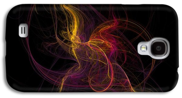 Light Galaxy S4 Cases - The November Dance Galaxy S4 Case by David Lane