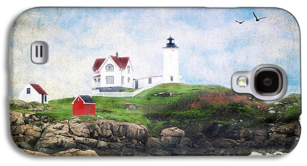 Outbuildings Galaxy S4 Cases - The Nubble Galaxy S4 Case by Darren Fisher