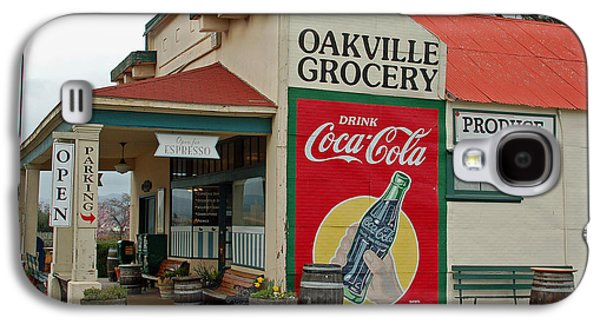 Coca-cola Signs Galaxy S4 Cases - The Oakville Grocery Galaxy S4 Case by Suzanne Gaff
