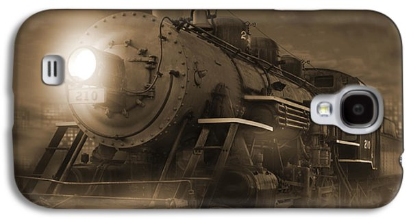 Rail Digital Art Galaxy S4 Cases - The Old 210 Galaxy S4 Case by Mike McGlothlen