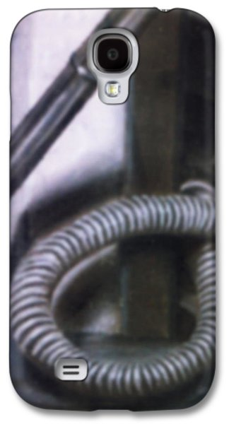 Surrealism Pastels Galaxy S4 Cases - The Old Soldier Galaxy S4 Case by Jon D Gemma