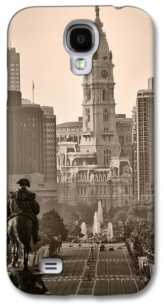 Franklin Galaxy S4 Cases - The Parkway in Sepia Galaxy S4 Case by Bill Cannon