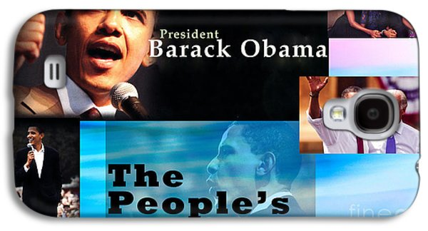 Michelle Obama Photographs Galaxy S4 Cases - The Peoples President Galaxy S4 Case by Terry Wallace