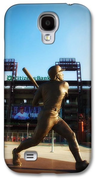 Citizens Bank Park Galaxy S4 Cases - The Phillies - Mike Schmidt Galaxy S4 Case by Bill Cannon