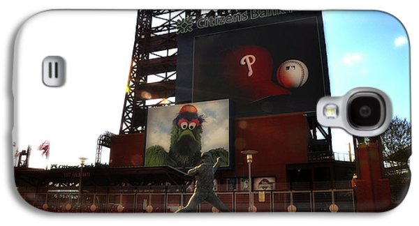 Citizens Bank Park Galaxy S4 Cases - The Phillies - Steve Carlton Galaxy S4 Case by Bill Cannon