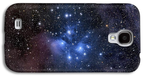 Color Image Galaxy S4 Cases - The Pleiades, Also Known As The Seven Galaxy S4 Case by Roth Ritter