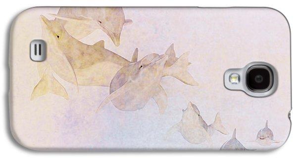Dolphin Digital Art Galaxy S4 Cases - The Pod Galaxy S4 Case by John Edwards