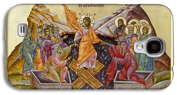 Julia Bridget Hayes Galaxy S4 Cases - The Resurrection of Christ Galaxy S4 Case by Julia Bridget Hayes