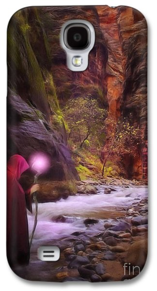 Painter Digital Art Galaxy S4 Cases - The Road Less Traveled Galaxy S4 Case by John Edwards