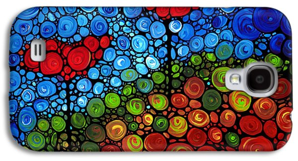 Green Modern Galaxy S4 Cases - The Roots Of Love Run Deep Galaxy S4 Case by Sharon Cummings