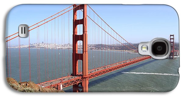 Wingsdomain Galaxy S4 Cases - The San Francisco Golden Gate Bridge . 7D14507 Galaxy S4 Case by Wingsdomain Art and Photography