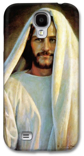 Standing Paintings Galaxy S4 Cases - The Savior Galaxy S4 Case by Greg Olsen