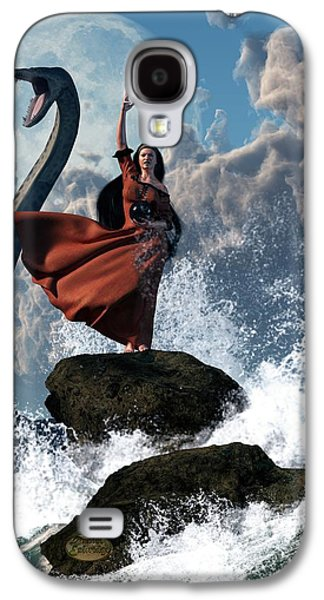 Tempest Galaxy S4 Cases - The Sea Witch Galaxy S4 Case by Daniel Eskridge