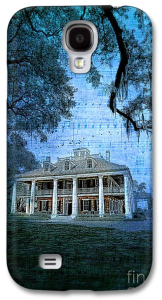 Architecture Framed Prints Galaxy S4 Cases - The Sugar Palace - River Road Blues Galaxy S4 Case by Lianne Schneider