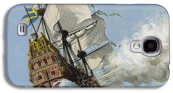 The Swedish Warship Vasa Galaxy S4 Case by Ralph Bruce
