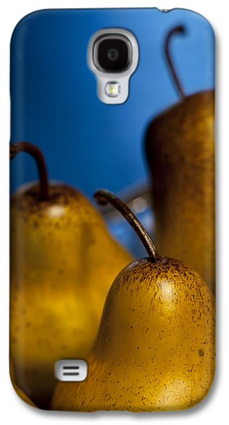 Indoor Still Life Galaxy S4 Cases - The Three Pears Galaxy S4 Case by Scott Norris