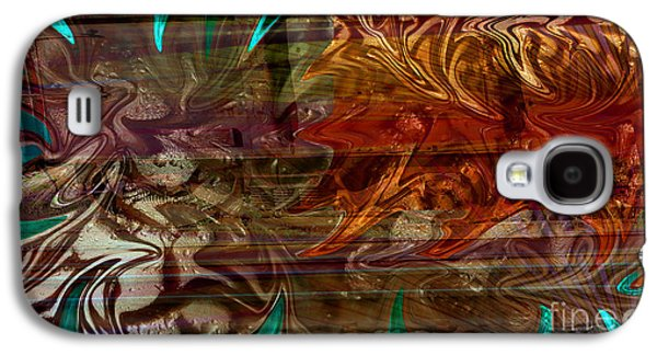 Shower Curtain Galaxy S4 Cases - The Train Wreck Galaxy S4 Case by Robert Meanor