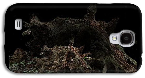 The View Mixed Media Galaxy S4 Cases - The Twist Of Nature Galaxy S4 Case by Debra     Vatalaro