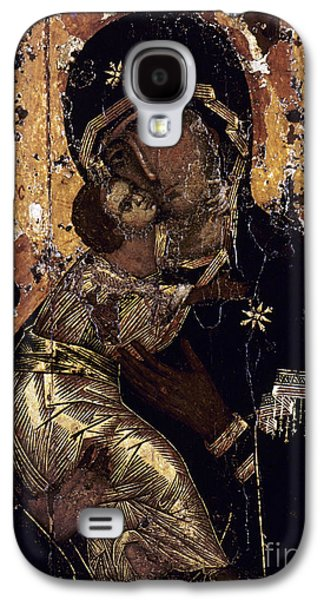 Orthodox Icon Galaxy S4 Cases - The Virgin Of Vladimir Galaxy S4 Case by Granger