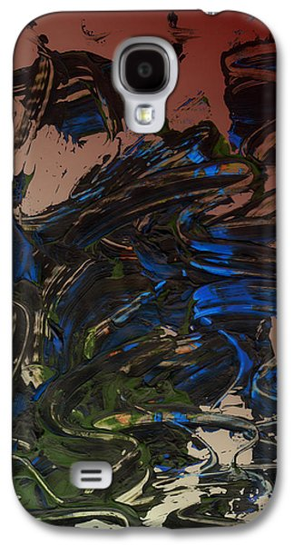 Swiss Mixed Media Galaxy S4 Cases - The Wizard Galaxy S4 Case by Manuel Sueess