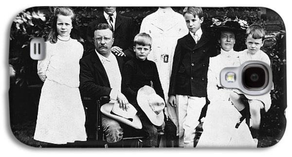 First Lady Galaxy S4 Cases - Theodore Roosevelt Family Galaxy S4 Case by Granger