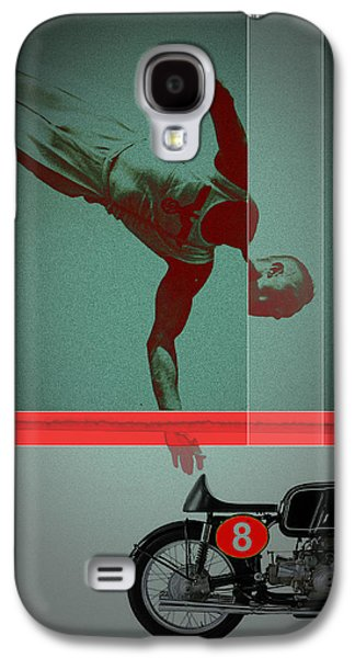 Champions Galaxy S4 Cases - They Crossed that Line Galaxy S4 Case by Naxart Studio